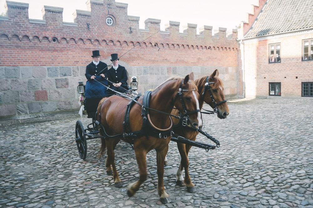 布罗霍姆城堡,浪漫童话婚礼